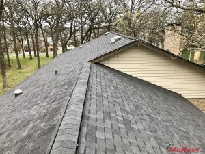 New Roof Constructed From 3-Tab Shingles