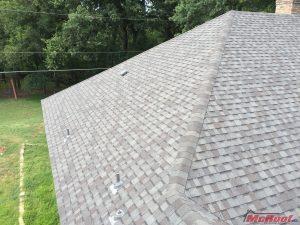Roof Made of 3-Tab Shingles