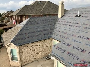 House Tarped for the Roof Damage Insurance Claims Process