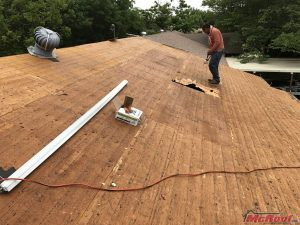 Workers Providing Residential Roof Services