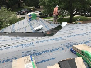 Local Roofers Replacing a Roof