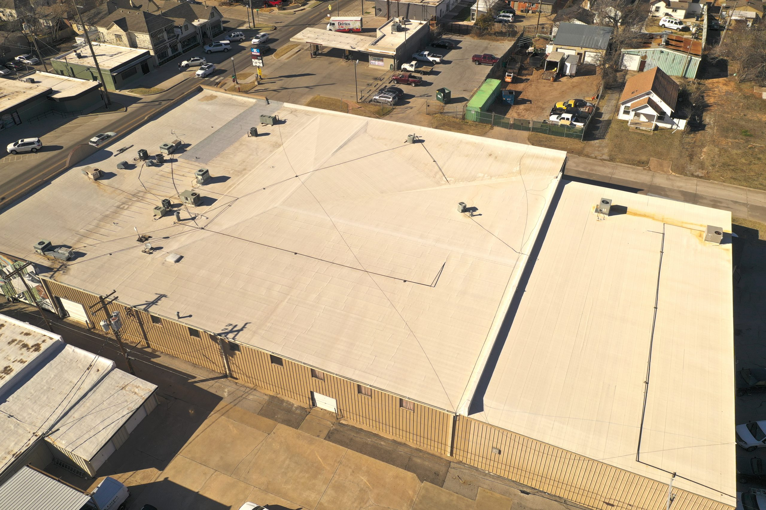 Flat Roof Replacement Oklahoma City OK